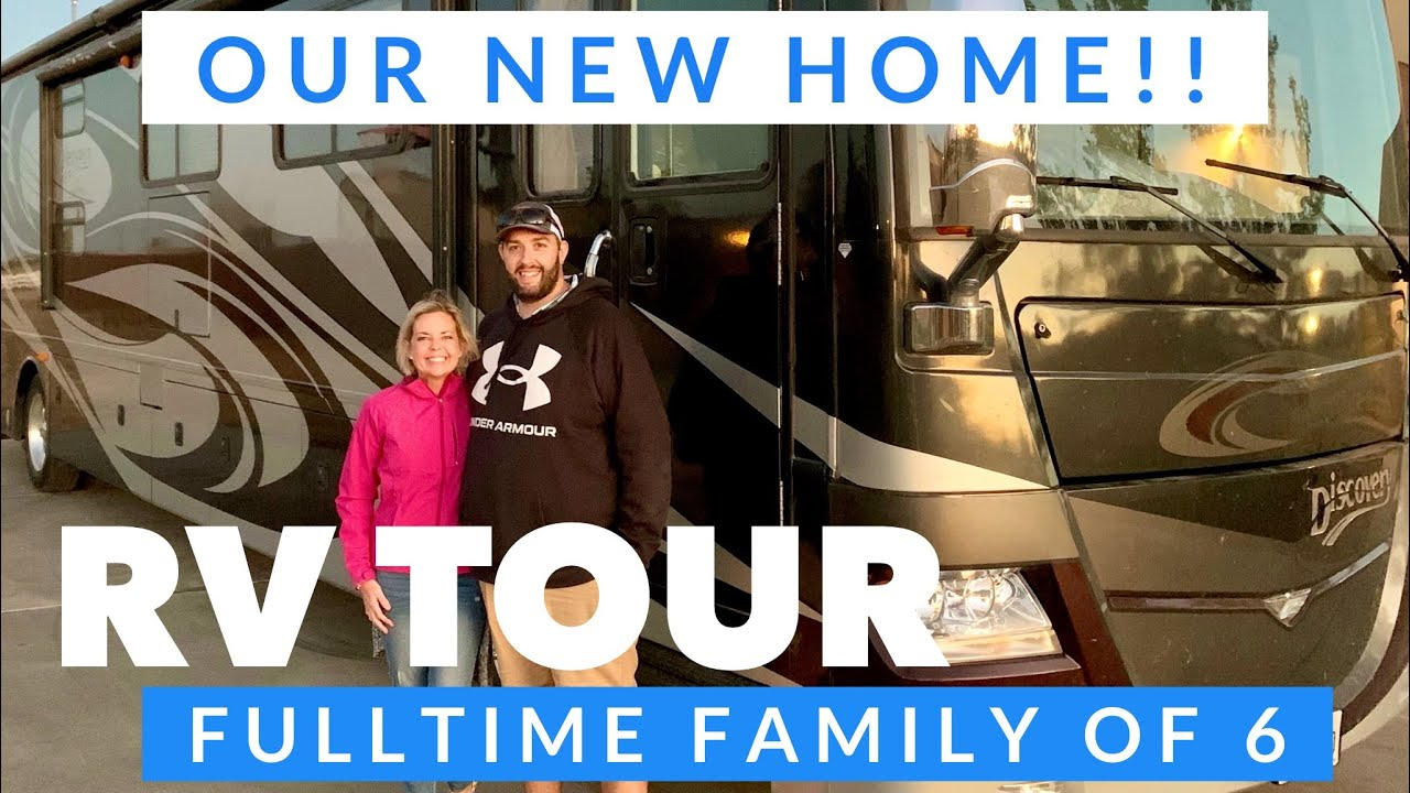OUR NEW HOME!!! (an RV!!)