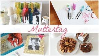 4 Muttertags DIY I Notitzbuch, Nutella Blume u.v.m I Mothersday DIY´s