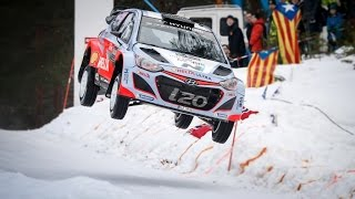 Rally Sweden - Day Two - Hyundai Motorsport 2015