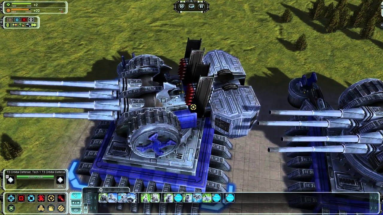 Supreme commander Forged alliance : Orbital Wars : Reborn ; anti ...