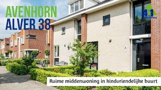 Ruime middenwoning Alver 38 Avenhorn bij 4x1 Makelaardij