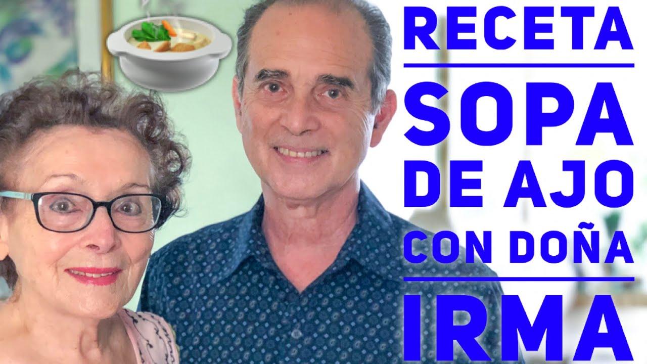 Receta - Sopa De Ajo Con Doña Irma