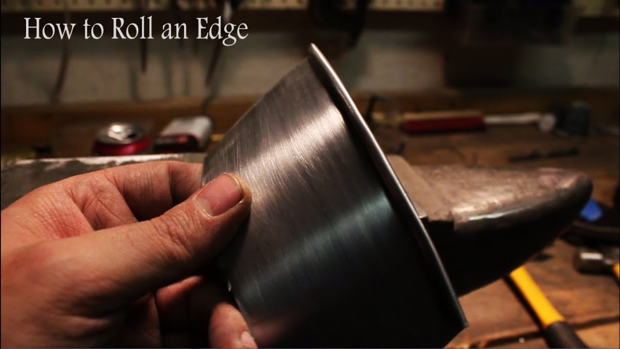 How to Roll an Edge DIY Armoring - YouTube