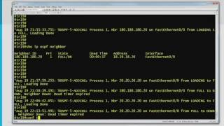 30 OSPF Neighbor Discovery, Hello Packet Parameters, Hello & Dead Intervals