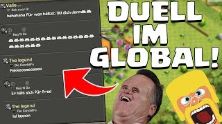 😆 GLOBAL CHAT DUELL! 😆 Clash of Clans ⭐️ CoC