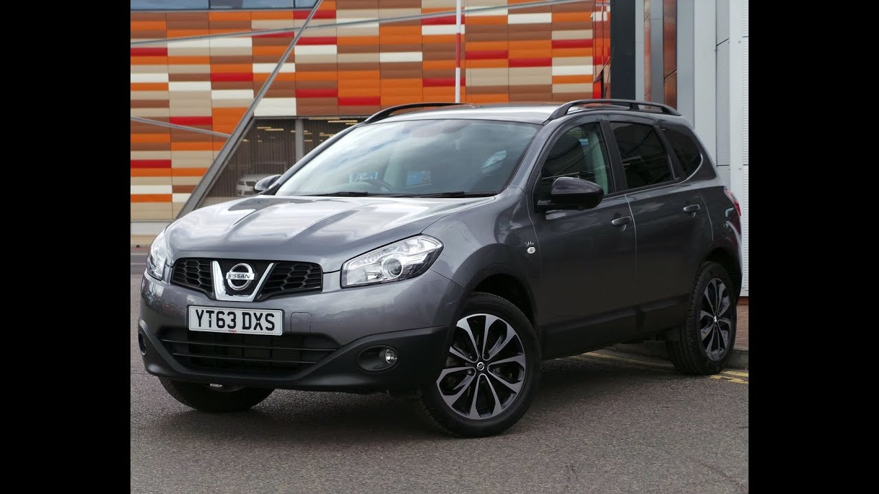 2013 63 plate nissan qashqai 2 1 6 117 360 5dr 7 seats in. Black Bedroom Furniture Sets. Home Design Ideas