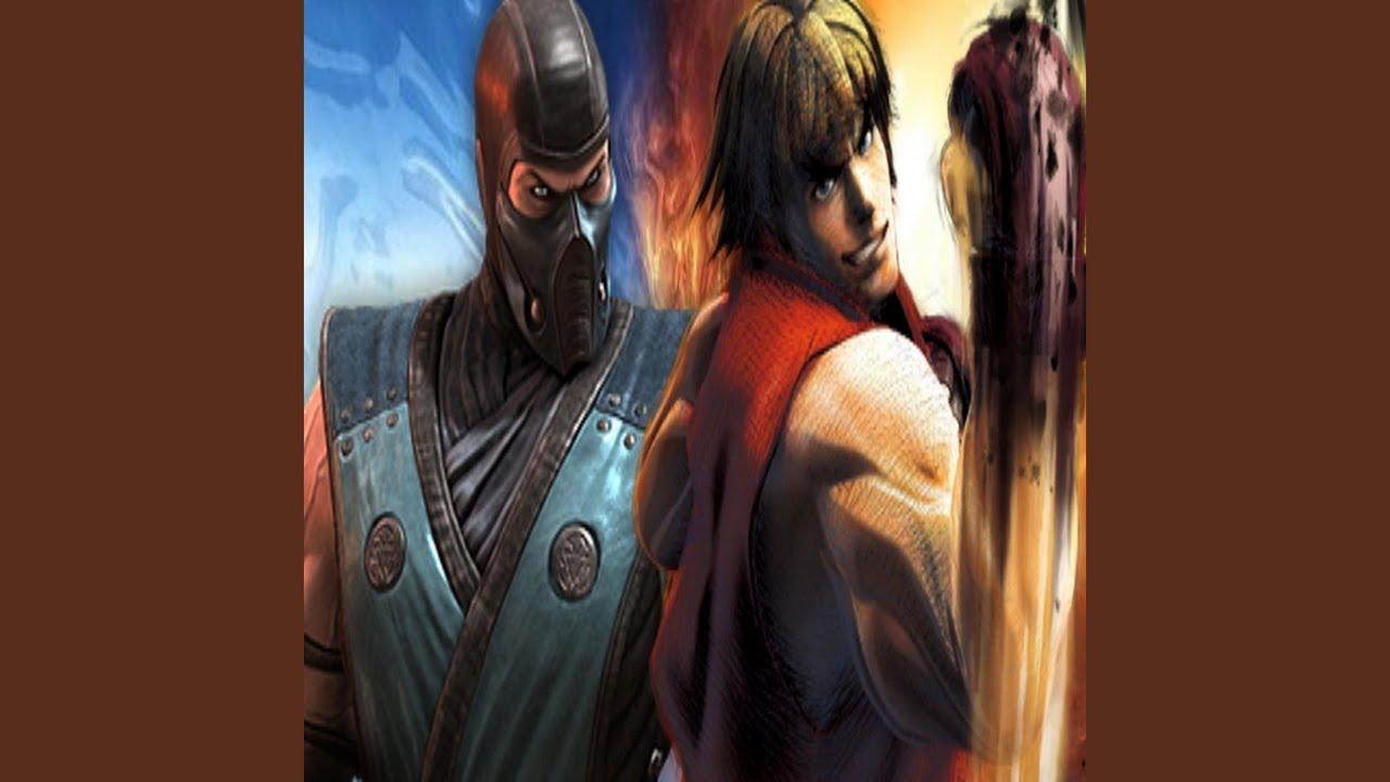 Street Fighter Vs Mortal Kombat Rap Battle Youtube