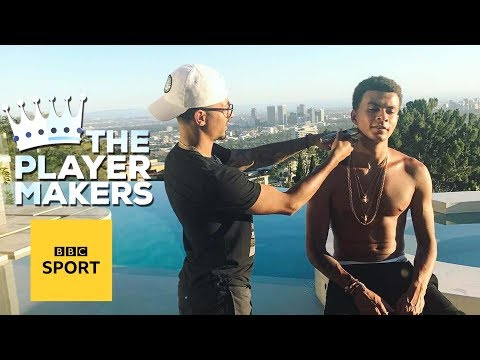 The man that cuts dele alli, kyle walker and alex oxlade-chamberlain's hair - bbc sport