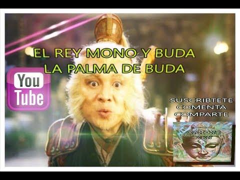 El Rey Mono y Buda - Un Mono en la Palma de Buda