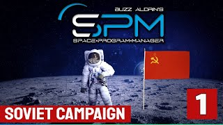 RACE TO THE MOON - Buzz Aldrin's Space Program Manager - USSR 1 (Sputnik)