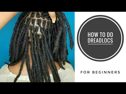 How To Do Dreadlocs || How To Installa Temporal Dreadlocs For Beginners