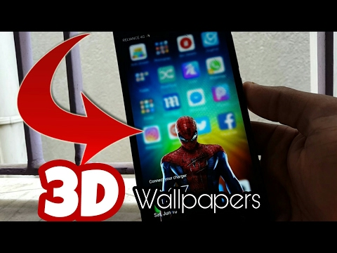 Amazing 3D Wallpapers & How to Make it!