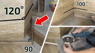 видео Как клеить плинтуса на пол: варианты