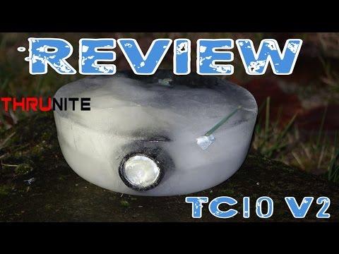ThruNite TC10 V2 CW Review Teil 2/2 | HD+ | Deutsch