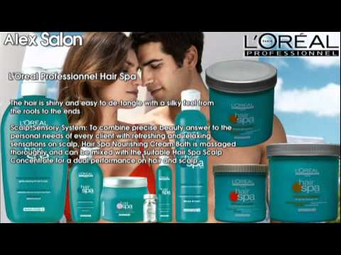 L 39 oreal professionnel hair spa youtube for Loreal salon hair products