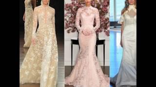Свадебный модный образ невесты 2018
