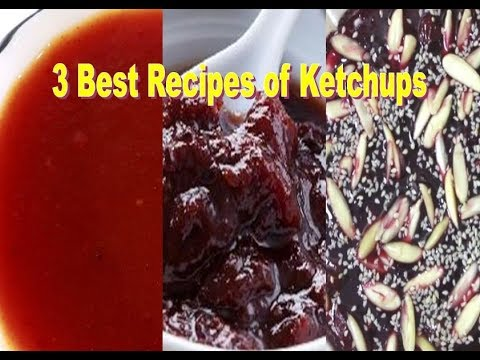 3 Recipes | Dates Jam | Khajur Imli ki Chutney | tomato ketchup | Tomato Sauce | plum ketchup