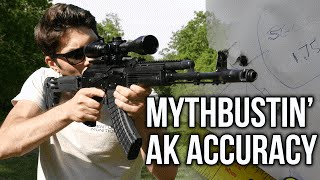 Mythbusting: Is The AK *REALLY* Inaccurate Compared To An AR15?