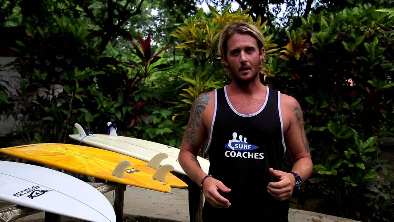How to paddle out in bigger surf on a sup video tutorial.