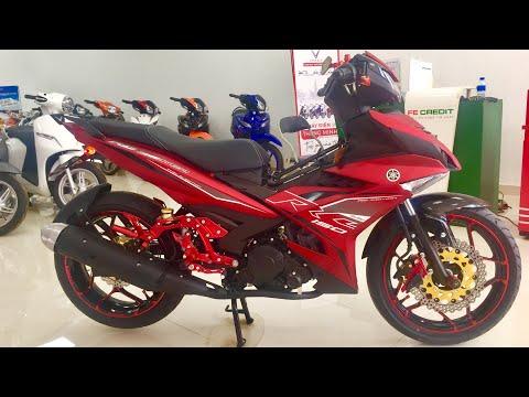 Soi Exciter 2019 đỏ Nhám độ Số Gãy Mâm Asiro Bản 4.0  Tại đại Lý Yamaha ▶️Auto Xe
