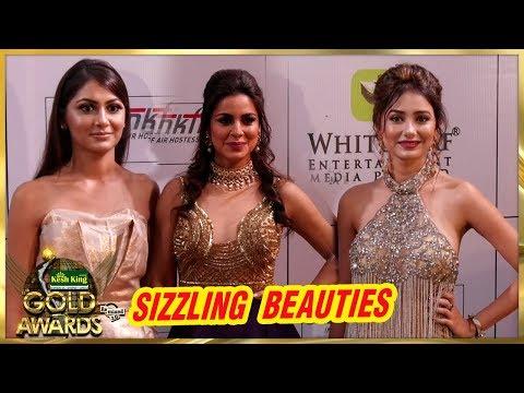 Sriti Jha, Leena Jumani And Shraddha Arya At Zee Gold Awards 2018 thumbnail