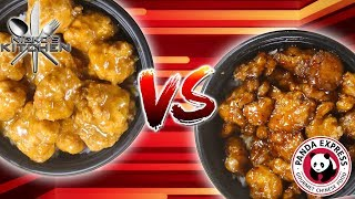 PANDA EXPRESS ORANGE CHICKEN vs HOMEMADE - Top Secret Recipe Exposed!!