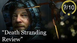 Death Stranding Angry Review [PS4 & PC] (Video Game Video Review)