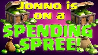 Clash of Clans - Jonno is on a Gems Spending Spree!