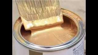 видео Благородная оливковая краска