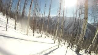 ski touring kootenay park