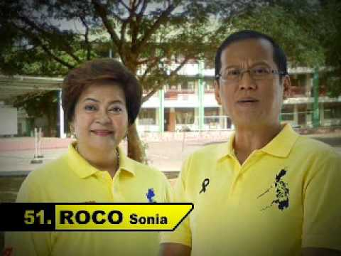 Sonia Roco TV Ad with Noynoy Aquino