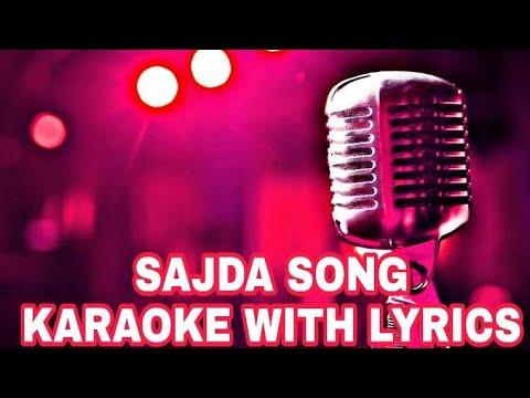 SAJDA KARAOKE WITH LYRICS