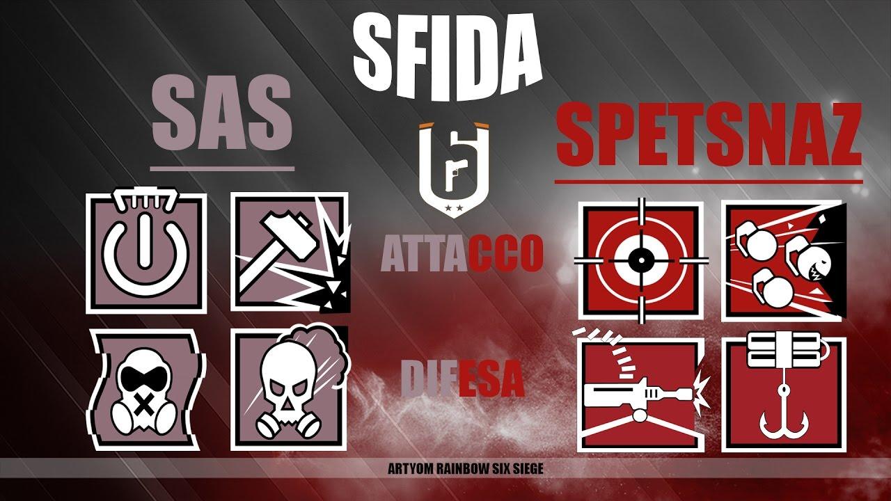 Sfida Sas E Spetsnaz Rainbow Six Siege Ita Youtube