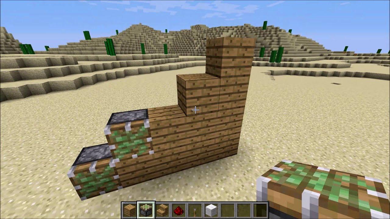 Minecraft Geheime Treppe Bauen Deutsch