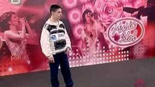 Bulgarian Music Idol - Poor Imitation of Michael Jackson
