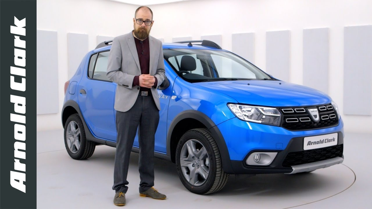 dacia sandero stepway laureate walkaround arnold clark youtube. Black Bedroom Furniture Sets. Home Design Ideas