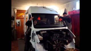 Mercedes Benz Sprinter Капітальний ремонт кузова