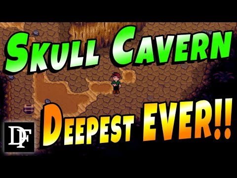 Going For A New Record! Legit Skull Cavern Attempt! - Stardew Valley 1.3