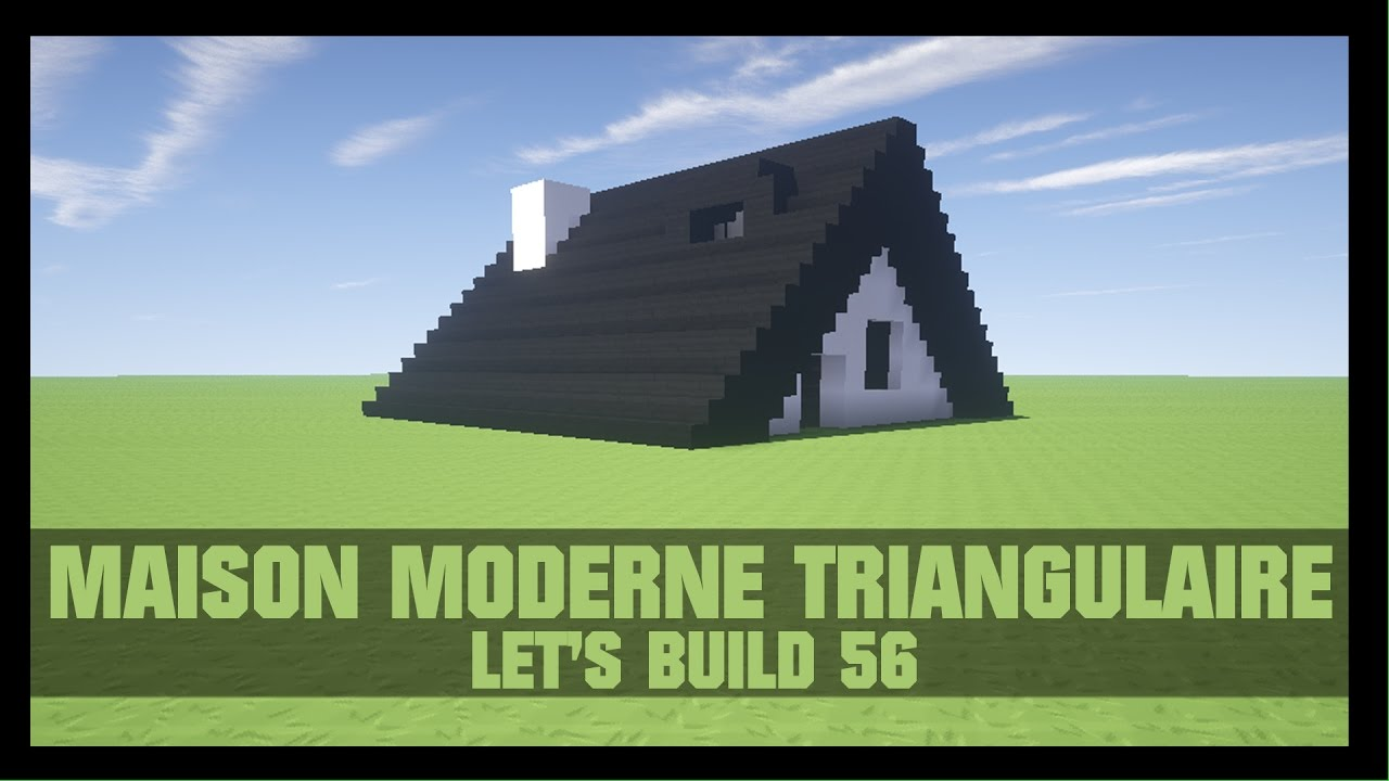 tuto comment construire une maison moderne de luxe dans minecraft youtube. Black Bedroom Furniture Sets. Home Design Ideas