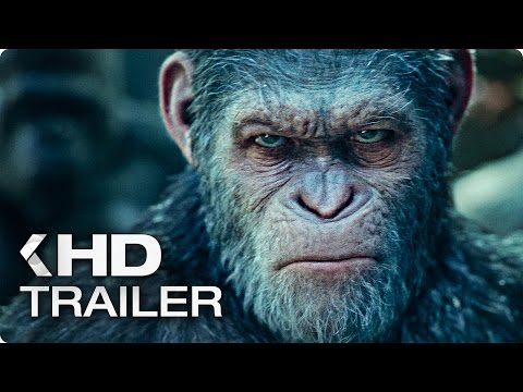WAR FOR THE PLANET OF THE APES Trailer 2 (2017)