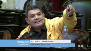 Diputado Olmedo Alfredo Horacio - Sesión 26-07-2017