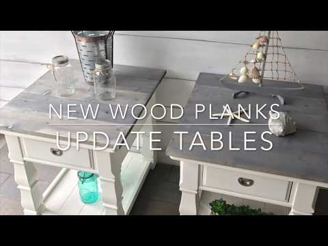 New Wood Planks Update Tables