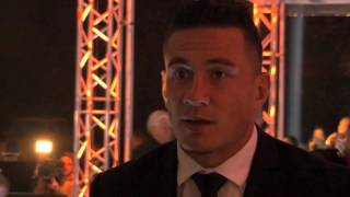 Sonny Bill - I just wanted to put a smile on his face