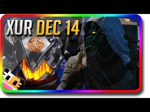 Destiny 2 - Xur Location & Exotic Armor Perk Rolls