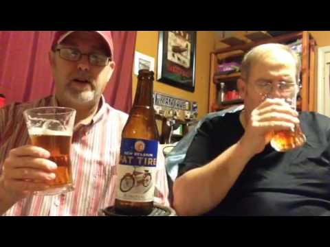 The Beer Review Guy 545 Fat Tire Belgian Style 5 2 Abv Youtube