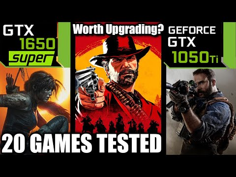 GTX 1650 SUPER Vs GTX 1050 Ti - Worth Upgrading? - 20 Games Tested - Late 2019