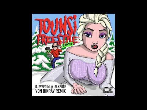 DJ Weedim feat. Alkpote - Tounsi Freestyle part 2  (Von Bikräv Remix)