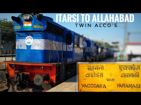 ITARSI to ALLAHABAD| Train Journey | Onboard 20903 Mahamana Express. (Indian Railways)