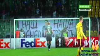 FC Krasnodar vs Sparta Prague 0 - 3  2016 ~All Goals & Highlights (Europa League 25/2/2016)
