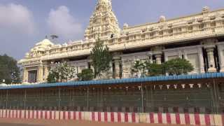 The temple view of vanathirupathi,punnai nagar, district thoothukidi,tamil nadu.this built by owner hotel saravana bhavan. 20 kms. from thiruche...